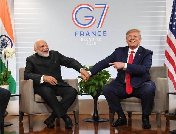 Trump modi g-7