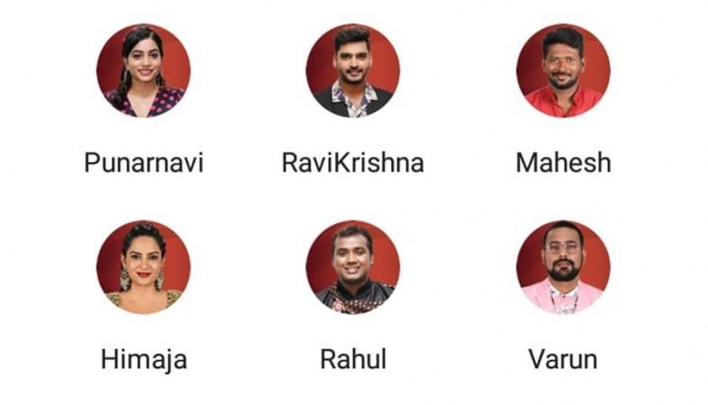 Six contestants nominated
