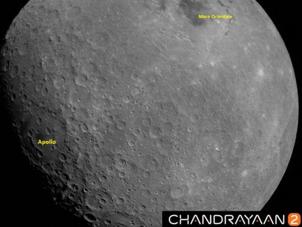 Chandrayaan-2 moon pictures