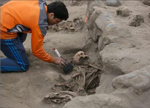 Peru human sacrifice