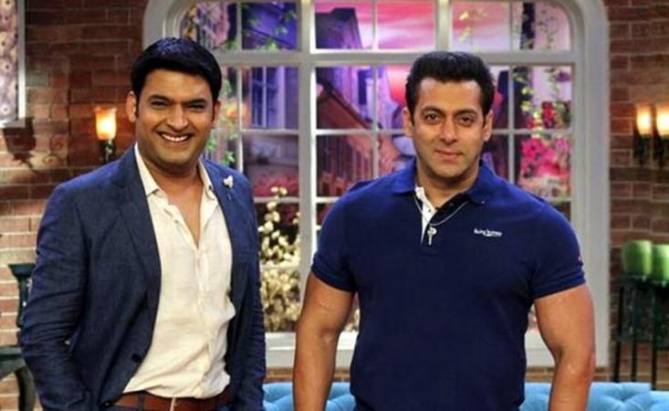 Kapil Sharma, Salman Khan