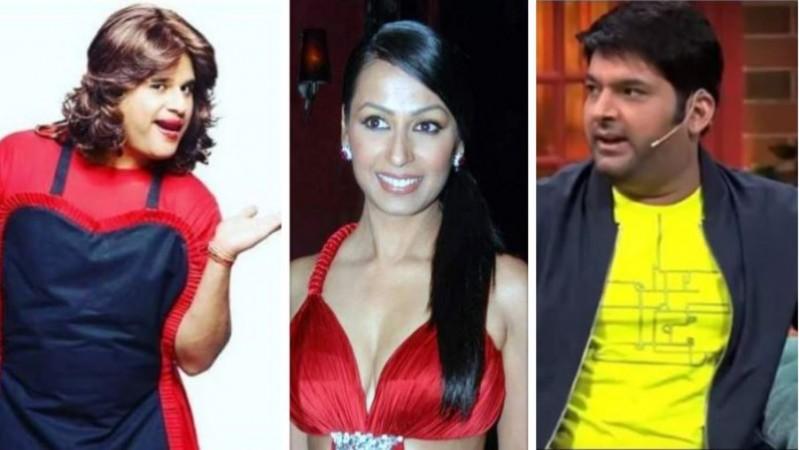 Krushna Abhishek, Kashmera and Kapil Sharma