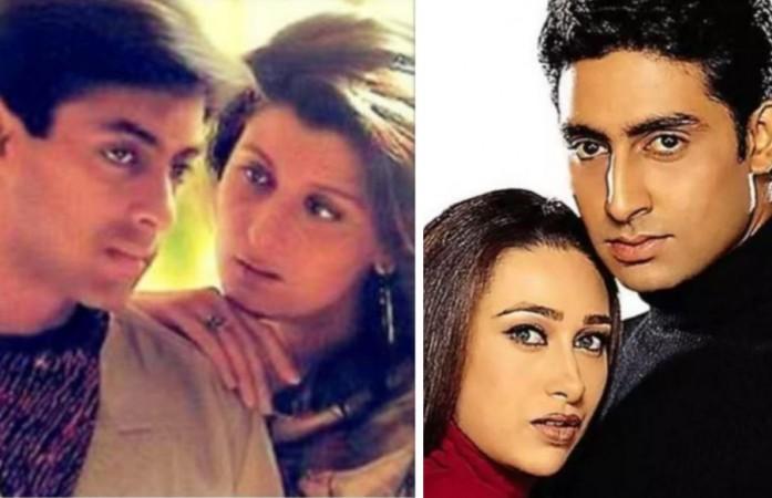 Salman Khan - Sangeeta, Abhishek - Karisma