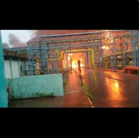 ONGC fire Navi Mumbai