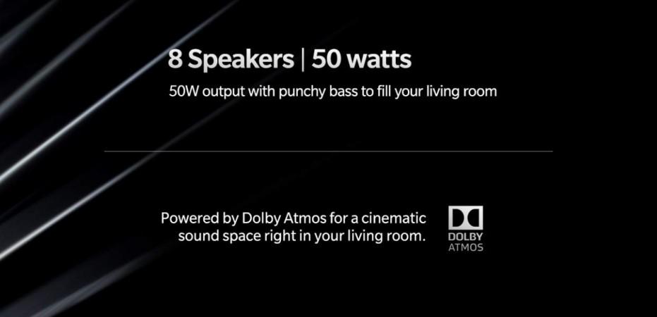 OnePlus TV audio setup confirmed