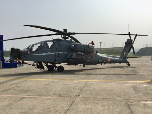 IAF inducts Apache attack helicopter