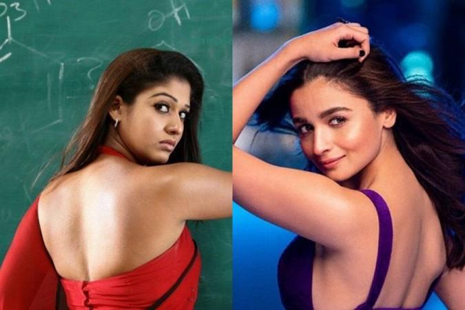 Nayanthara and Alia Bhatt