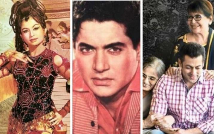 Helen, Salim Khan, Salma  Khan, Salman Khan