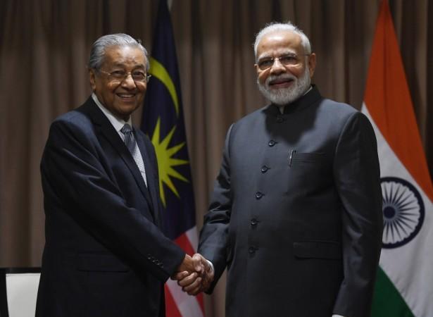 PM Modi with Malaysian PM