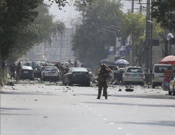 Afghan terror attack by Taliban