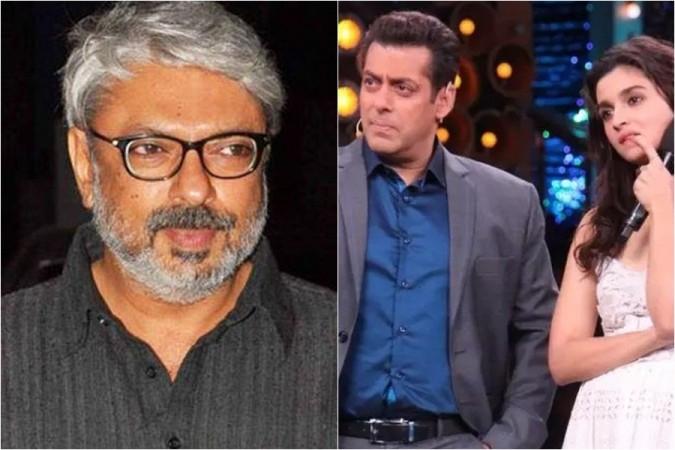 Sanjay Leela Bhansali, Salman Khan, Alia Bhatt