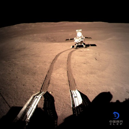 Yutu-2 of Chang'e 4 mission continues exploration