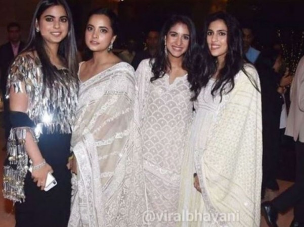 PIC: Isha Ambani, Shloka Mehta and Radhika Merchant steal