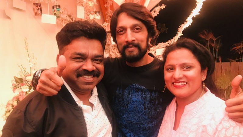 S Krishna, Sudeep and Swapna