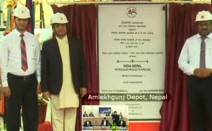 Motihari-Amlekhganj (Nepal) petroleum product pipeline