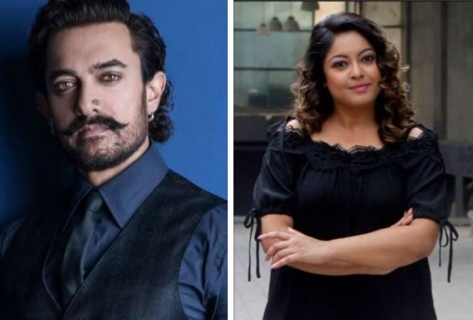 Aamir Khan, Tanushree Dutta