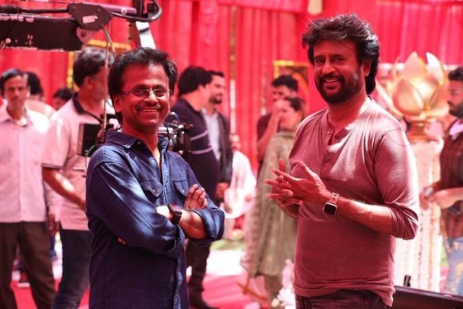 AR Murugadoss with Rajinikanth