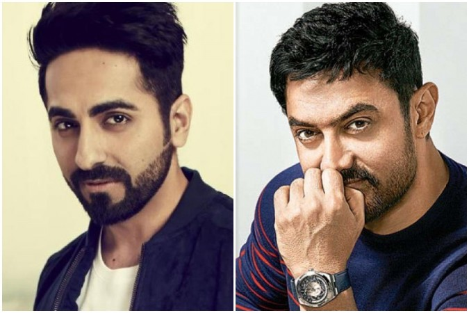 Ayushmann Khurrana compared with Aamir Khan
