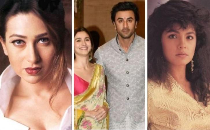 Karisma Kapoor, Alia Bhatt, Ranbir Kapoor, Pooja Bhatt