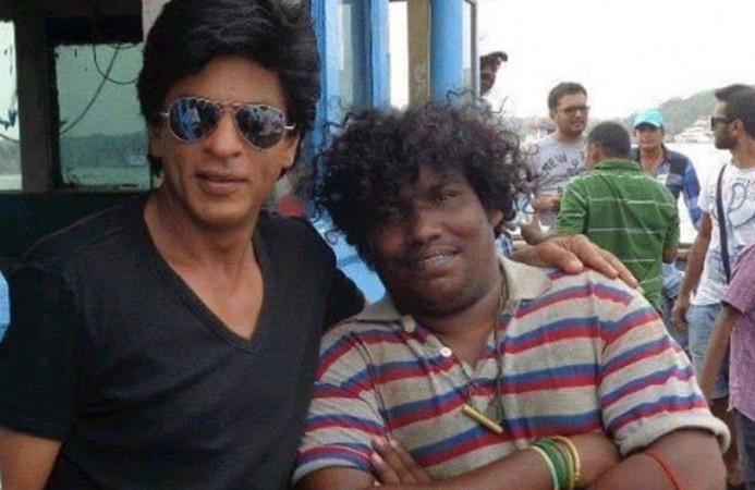 Shahrukh Khan and Yogi Babu