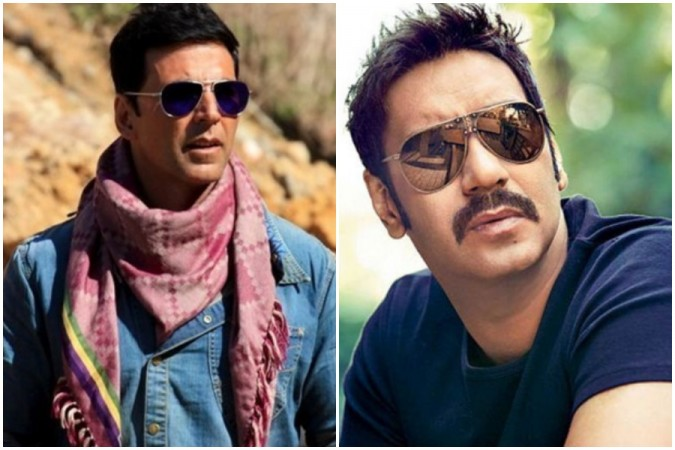 Ajay Devgn's fans run dirty trend against Akshay Kumar