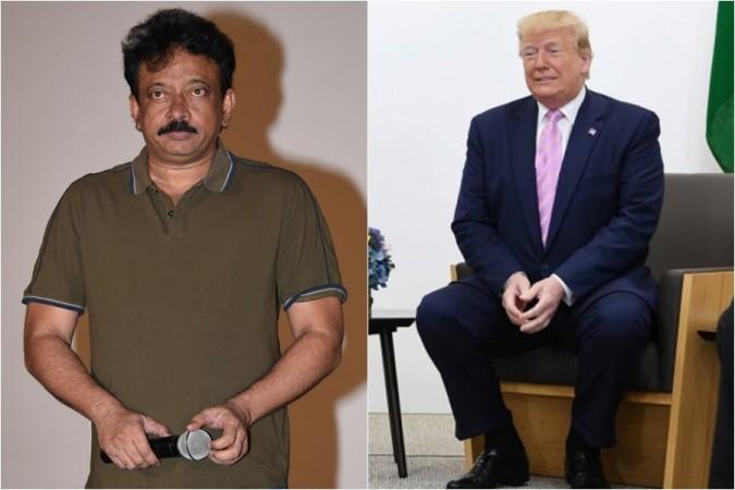 Ram Gopal Varma and US President Donald J Trump