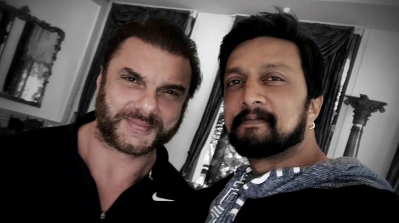 Sohail Khan and Sudeep