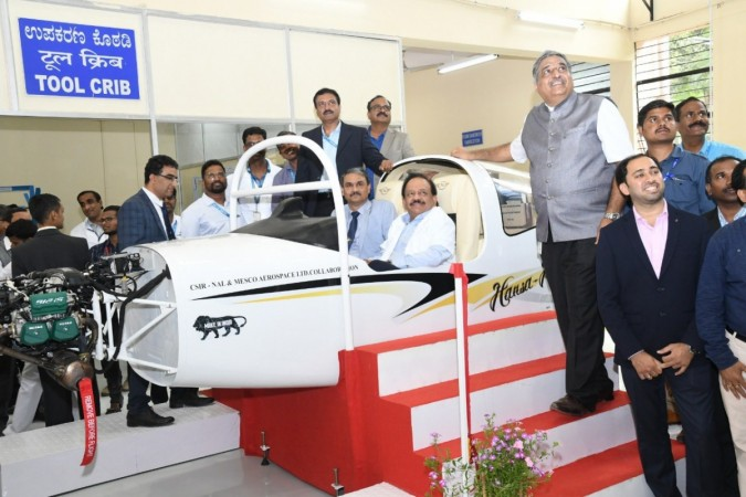 Dr. Harshvardhan at NAL facility in Bengaluru