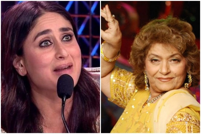 Kareena Kapoor Khan recalls days when Saroj Khan used to scold her