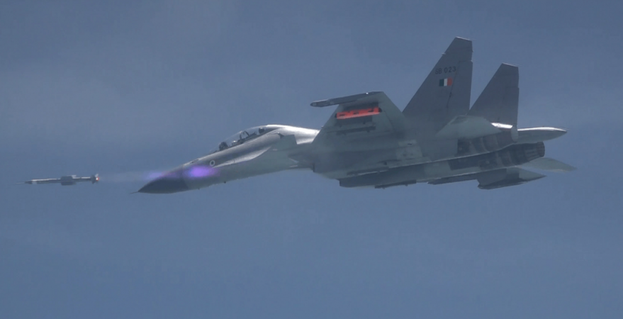 Astra flight tested from Su-30MKI