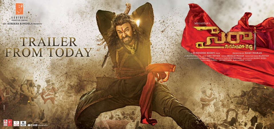 Sye Raa Narasimha Reddy Box Office Collection Day 2 Chiru S