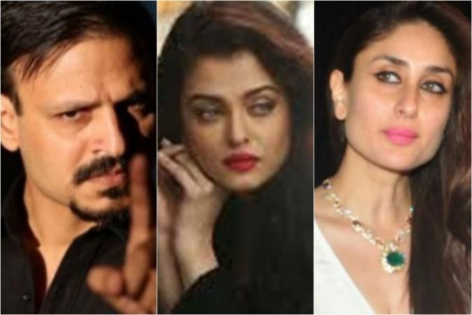 Vivek Oberoi, Aishwarya Rai, Kareena Kapoor