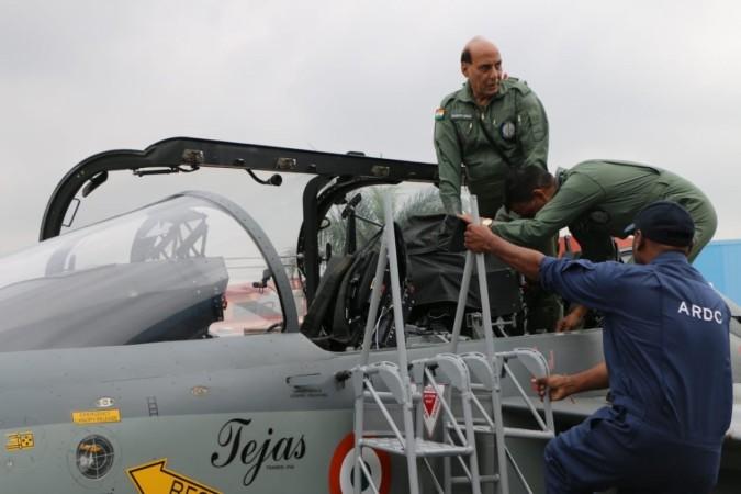Defence Minister Rajnath Singh on Tejas LCA