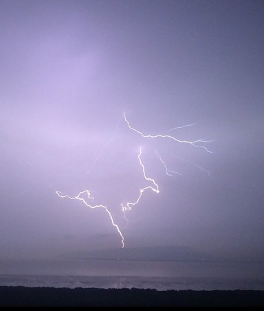 Lightning in Mumbai
