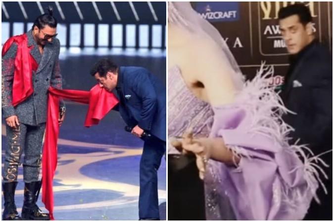 Salman Kha teases Ranveer Singh and Deepika Padukone at IIFA 2019