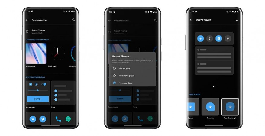Android 10-based OxygenOS 10 for OnePlus 7, 7 Pro