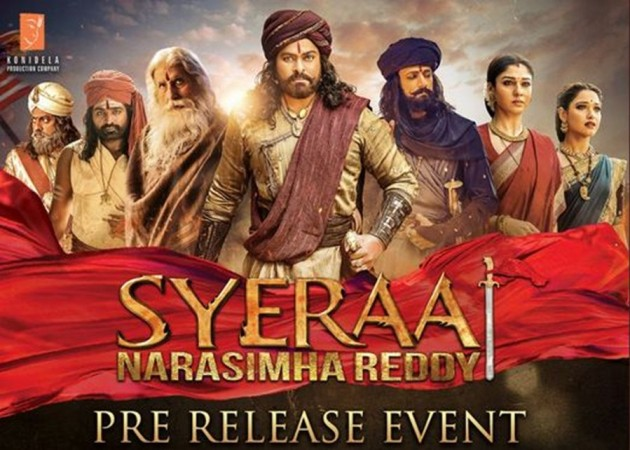 Sye Raa Narasimha Reddy event poster