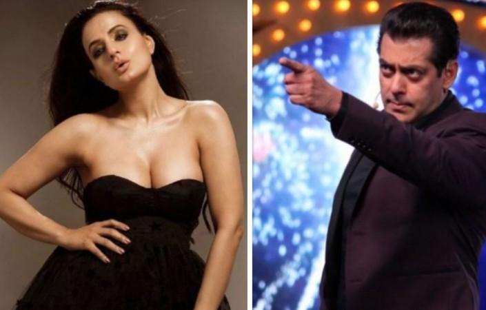 Ameesha Patel, Salman Khan