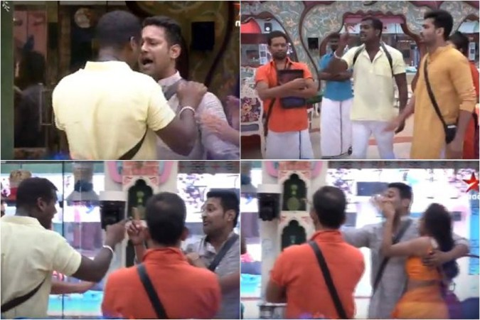 Rahul Sipligunj and Varun Sandesh's heat argument in Bigg Boss Telugu 3 house