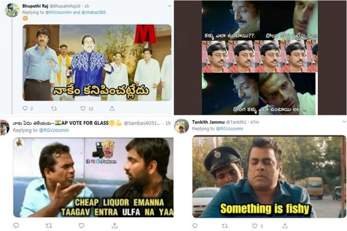 Replies to Ram Gopal Varma's tweet on Sye Raa trailer
