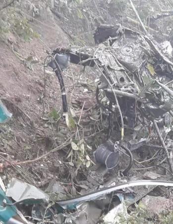 IAF chopper crash in Bhutan