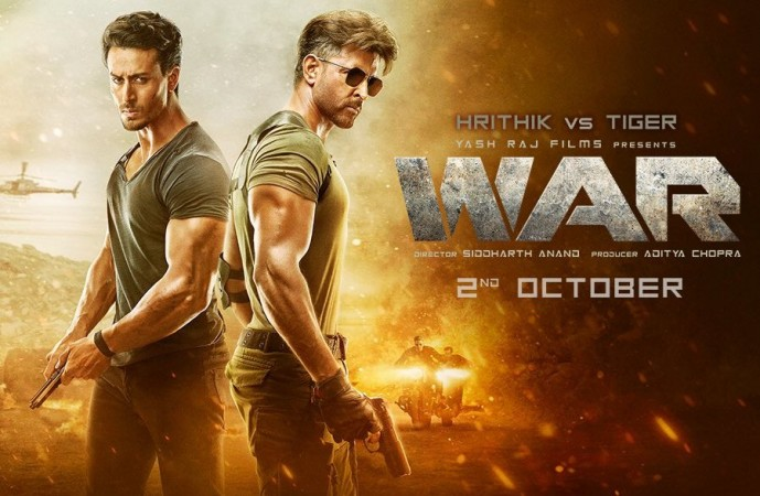 Hrithik Roshan and Tiger Shroff's Bollywood movie War