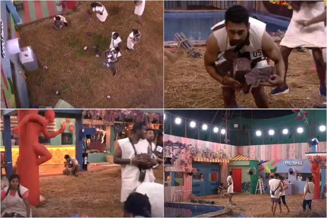 Photos of today's nomination task on Bigg Boss Telugu 3