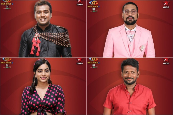 Rahul Sipligunj, Punarnavi Bhupalam, Varun Sandesh and Mahesh Vitta