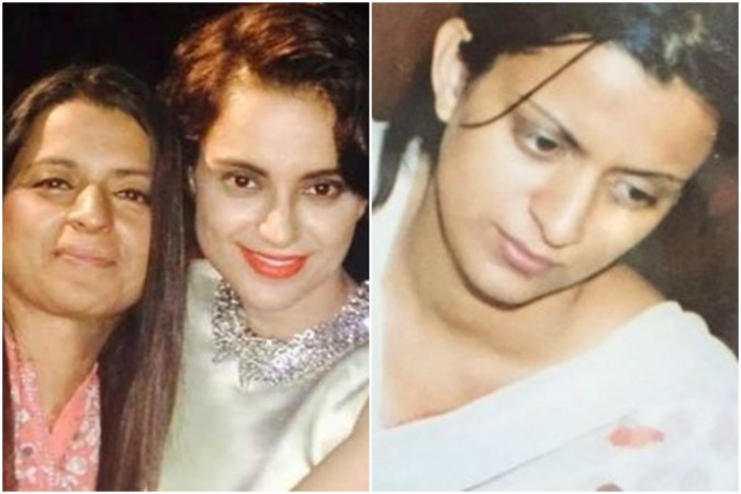 Kangana Ranaut's sister Rangoli Chandel shares her pictures before she faced acid attack