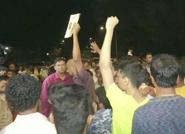 Shiv sena protests