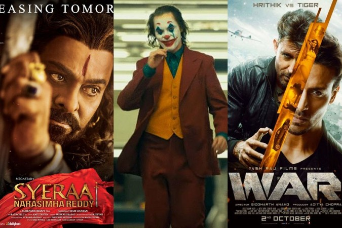 Joker Marches Ahead of Sye Raa and War