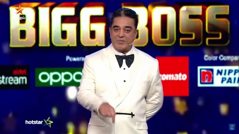 Kamal Haasan in Bigg Boss Tamil 3 Grand Finale