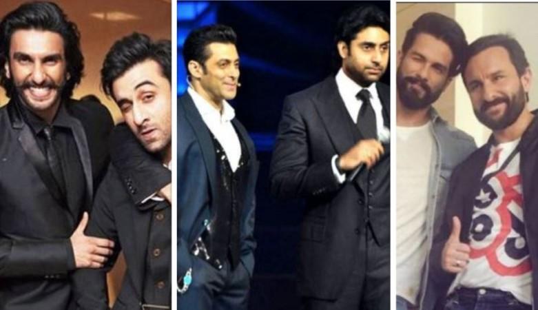 Ranveer, Ranbir, Salman, Abhishek, Shahid, Saif