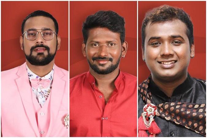 Varun Sandesh, Mahesh Vitta and Rahul Sipligunj